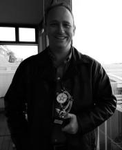 Bradley Day winning a best speaker award