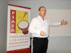Bradley Day - Emcee at Professional Speakers Association
